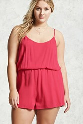 Forever 21 Plus Size Woven Cami Romper