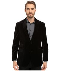 Kroon Sting Two Button Coat Black Men's Coat