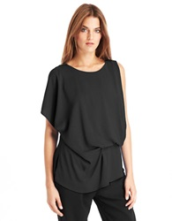 Kenneth Cole Brandon Blouse Black