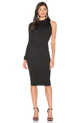 Glamorous One Sleeve Dress Black