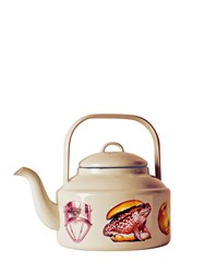Seletti Wears Toilet Paper Mix And Match Printed Metal Teapot