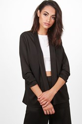 Boohoo Tailored Blazer Black