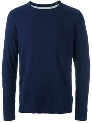 Bellerose Crew Neck Jumper Blue