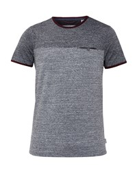 Ted Baker Men's Bike Two Tone T Shirt Charcoal
