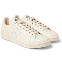 Raf Simons Adidas Originals Stan Smith Leather Sneakers Cream