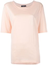 Louis Feraud Vintage Round Neck T Shirt Pink And Purple