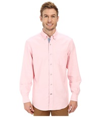 Nautica Solid Oxford L S Woven Shirt Orchid Pink Men's Long Sleeve Button Up Purple