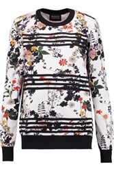 Markus Lupfer Printed Cotton Jersey Sweatshirt Multi
