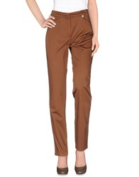 Diana Gallesi Trousers Casual Trousers Women Brown