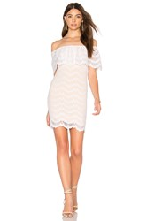 Nightcap Bachelorette Mini Dress White
