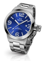 Tw Steel Canteen 45Mm Stainless Steel Bracelet Watch