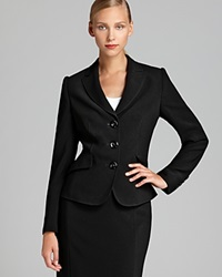 Basler Three Button Pleated Back Blazer Bloomingdale's Exclusive