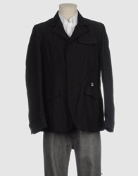 Etiem By Javier Canas Coats And Jackets Mid Length Jackets Men Black