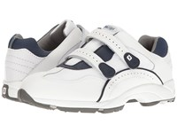 Footjoy Golf Specialty Spikeless Leather Athletic White Men's Golf Shoes
