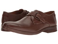 Hush Puppies Ardent Parkview Brown Leather Men's Slip On Dress Shoes