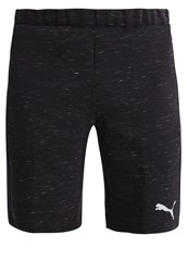 Puma Sports Shorts Cotton Black Heather