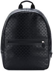 Emporio Armani Regular Shape Backpack Black