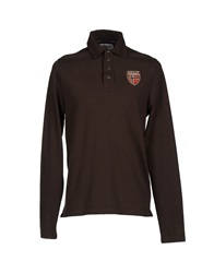 Helly Hansen Polo Shirts Dark Brown