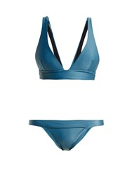 Haight Low Rise Triangle Bikini Blue