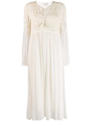 Forte Forte Gypsy Embroidered Dreess Neutrals