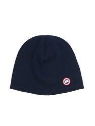 Canada Goose Fleece Lined Wool Beanie Hat