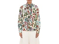 Philosophy Di Lorenzo Serafini Women's Flower And Leaf Print Shirt No Color