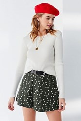Urban Outfitters Uo Abella A Line Short Floral Multi