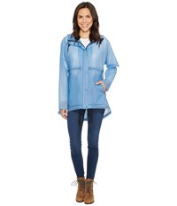 Hunter Original Vinyl Clear Smock Pale Blue Women's Coat