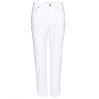Christopher Kane Cropped Jeans White