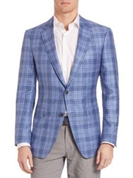 Saks Fifth Avenue Samuelsohn Plaid Sportcoat