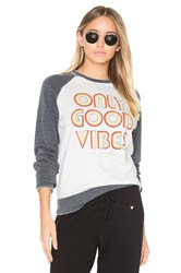 Spiritual Gangster Only Good Vibes Sweatshirt White