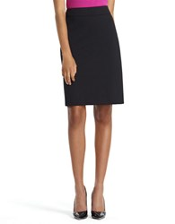 Jones New York Lucy Ponte Pencil Skirt Black
