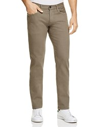 3X1 Colored Denim Straight Fit Jeans In Scout Brown