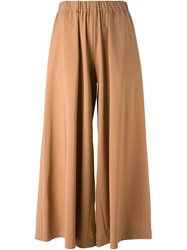 Erika Cavallini Semi Couture Culotte Trousers Brown