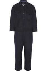Nlst Wool Blend Jumpsuit Navy