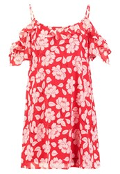 Abercrombie And Fitch Summer Dress Red