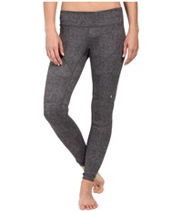 Spyder Fate Pants Image Grey Washed Print Women's Workout Gray
