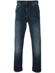 Levi's Made And Crafted 'Tack Slim' Jeans Blue