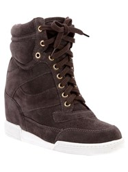 Marc By Marc Jacobs Wedge Trainers Grey