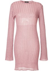 Ellery Marina Jumper Pink And Purple