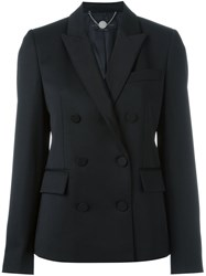 Stella Mccartney Double Breasted Blazer Black