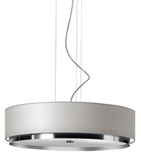 Estiluz Miris Pendant Light T 2714 T 2714 Incandescent 37 Brushed Nickel 26 Black Silver