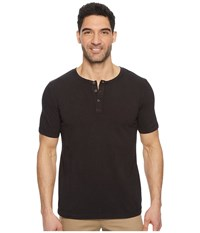 Mod O Doc Montecito Short Sleeve Henley Black Stone Short Sleeve Knit