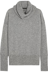 The Row Cecilia Cashmere And Silk Blend Turtleneck Sweater