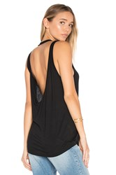 Cheap Monday Flicker Tank Black