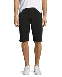 Atm Anthony Thomas Melillo French Terry Pull On Shorts Charcoal