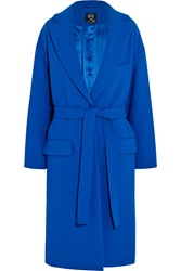 Mcq By Alexander Mcqueen Belted Oversized Crepe Coat