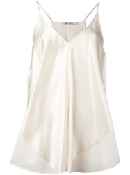 Alexander Wang T By V Neck Camisole White