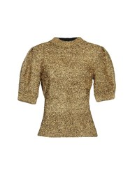 Sjyp Sweaters Gold