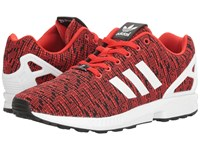 Adidas Zx Flux Graphic Red Core Black Footwear White Men's Running Shoes Pink